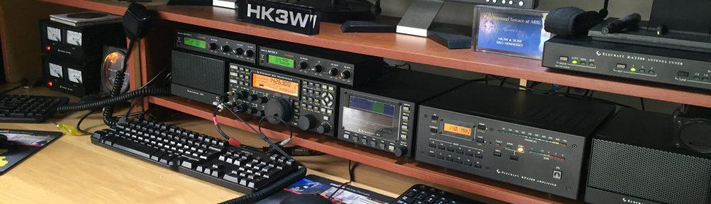 """Siso HK3W Amateur HamRadio """"100% DX"""""""